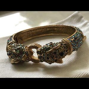 🔥JCrew AuroraBorealis Crystals Jaguar Bracelet🔥